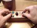 Handmade electronic music box